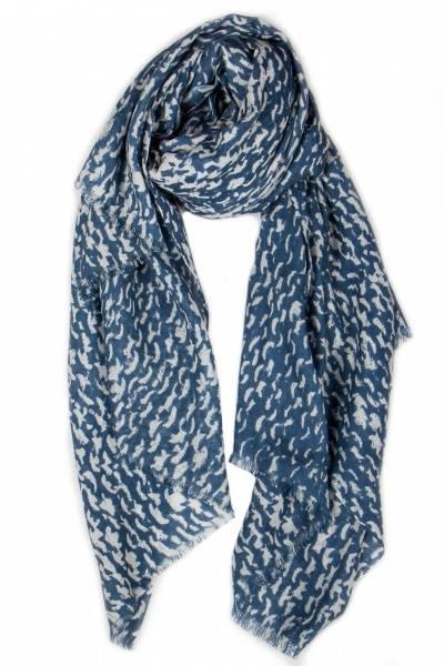 ByWho, ullskjerf knit blue