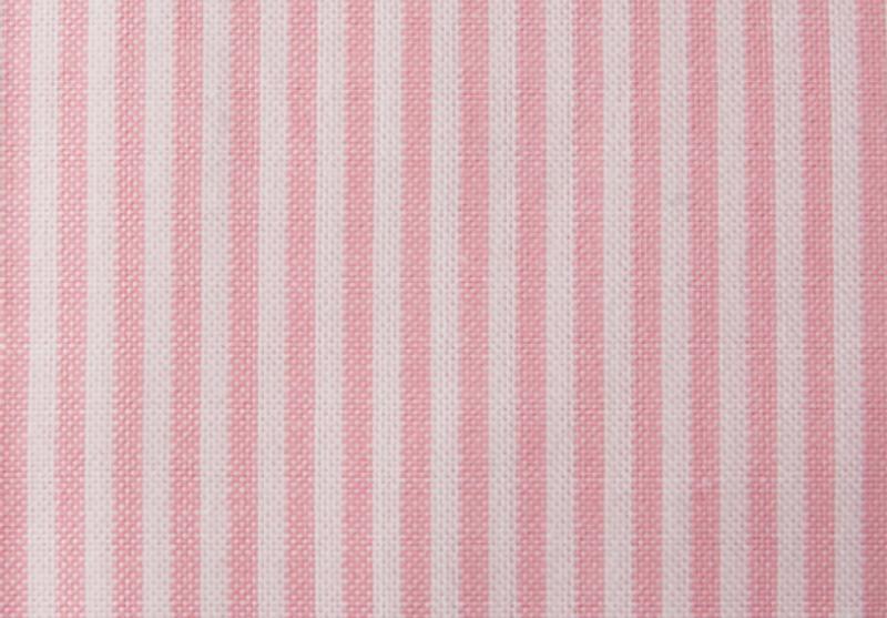 Lexington pin point pink stripet putevar 50X70