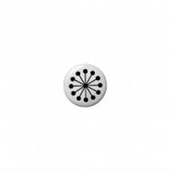 Bloomingville, sorte knagger , 5 cm i diameter