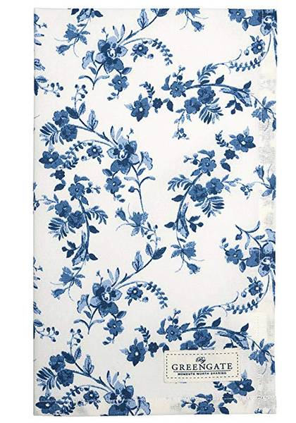 GreenGate, Vanessa blue kjøkkenhåndkle