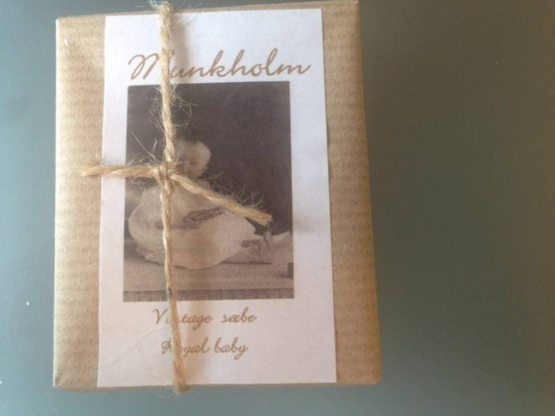 Munkholm, vintagesåpe , royal baby
