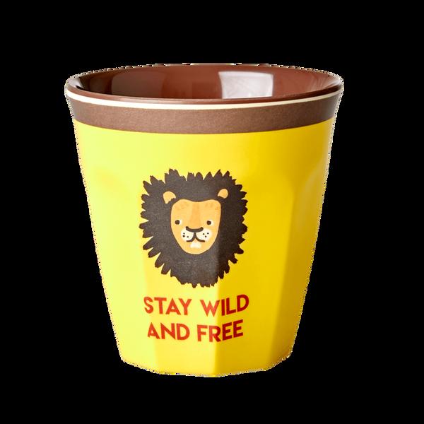 Rice, gul kopp med løve