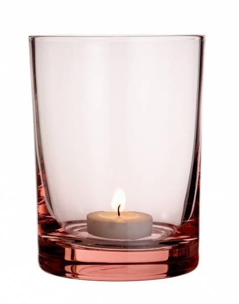 By nord, munnblåst glass, northern light rosaline