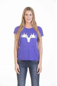 Bilde av Barfota , moose t-shirt