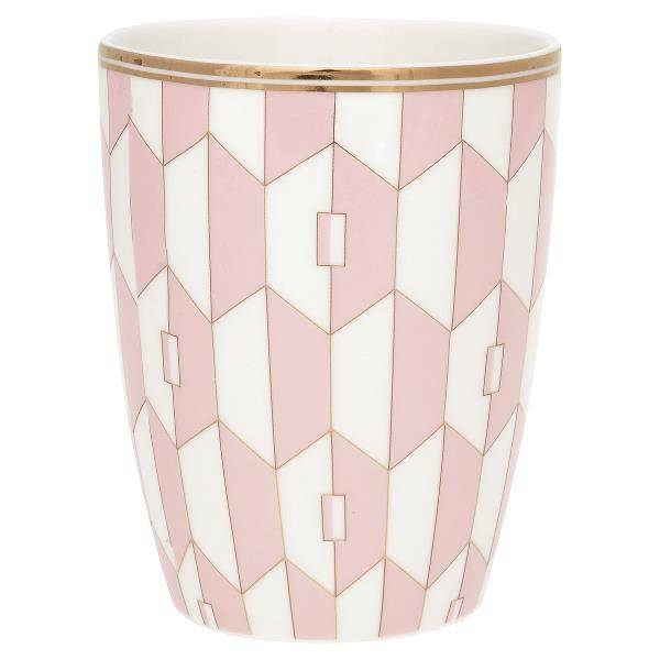 GreenGate, Aurelie pale pink lattekopp