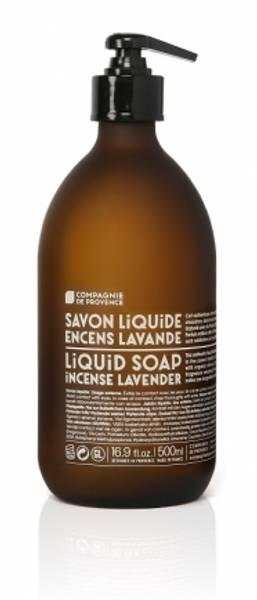 Savon de Marseille, flytende såpe 500 ml, røkelse lavendel