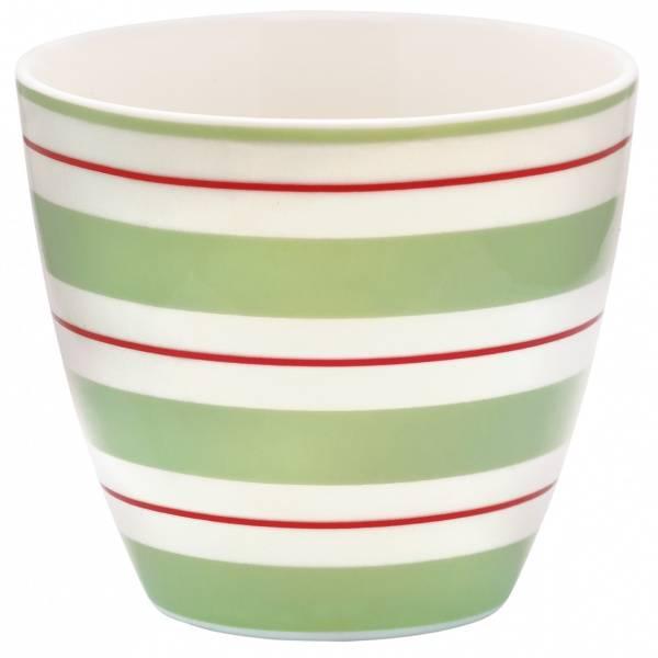 GreenGate, lattekopp Elinor green