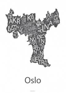 Bilde av Designbyodd, Plakat Oslo (