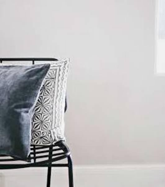 Designby, grey print putetrekk