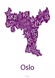 Bilde av Designbyodd, Plakat Oslo