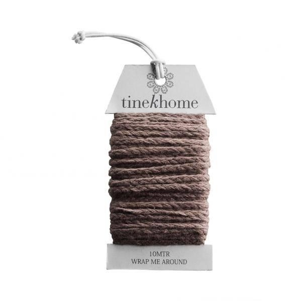 Tine K Home, 10 meter bomullsbånd almond