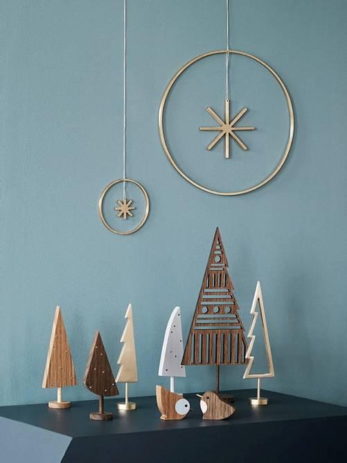 Bilde av Winterland Brass Star - Large