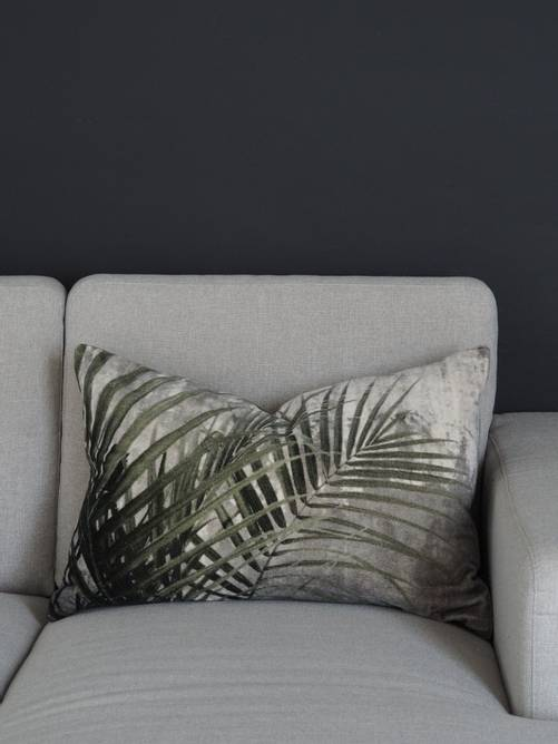 Bilde av Leaf Putetrekk Velvet print