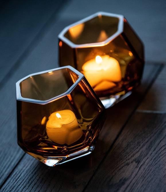 Bilde av Iglo telykt varm cognac 90 mm