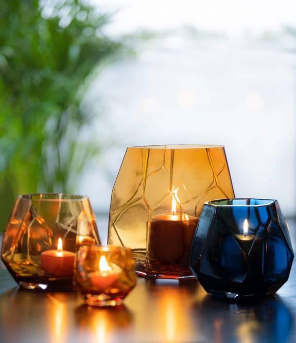 Bilde av Iglo lykt varm cognac