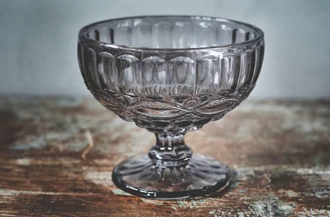Bilde av Glasskål på stett 12x10,5cm