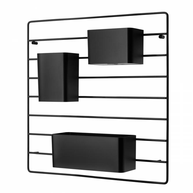 Bilde av String veggraster svart 1 pk