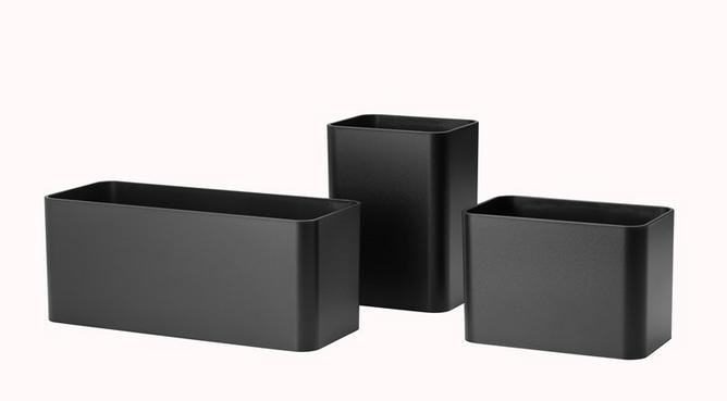 Bilde av String bokser svart 3pk