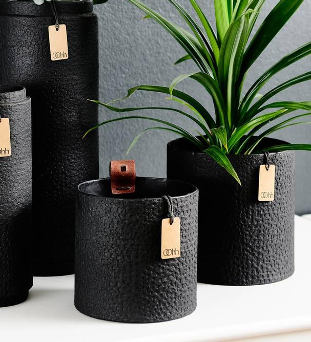Bilde av Madrid cylinder 11 cm svart