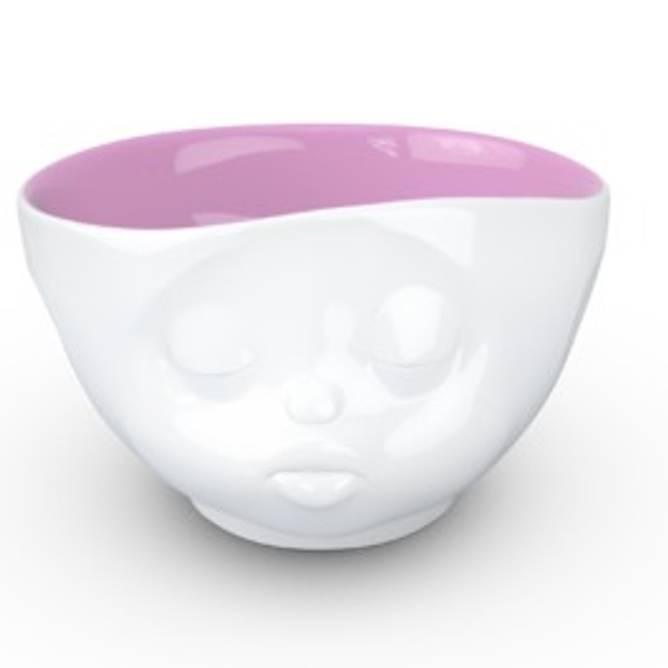Bilde av Tassen skål rosa innside