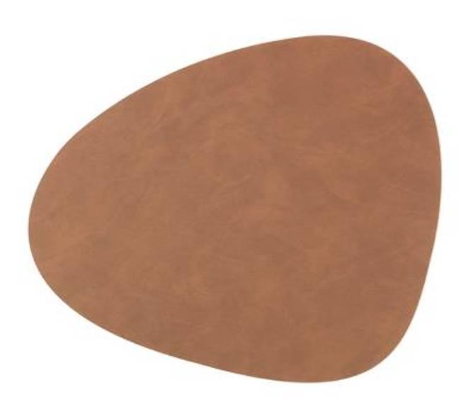 Bilde av Table mat curve S - Brown