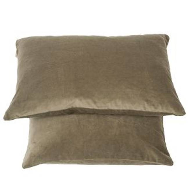 Bilde av Cushion Matt Velvet - Olive