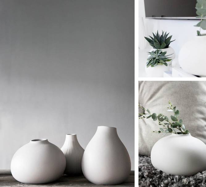 Bilde av Kalla Vase Hvit Stor