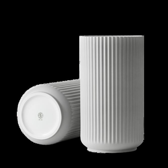 Bilde av Lyngby vase 31 cm light grey