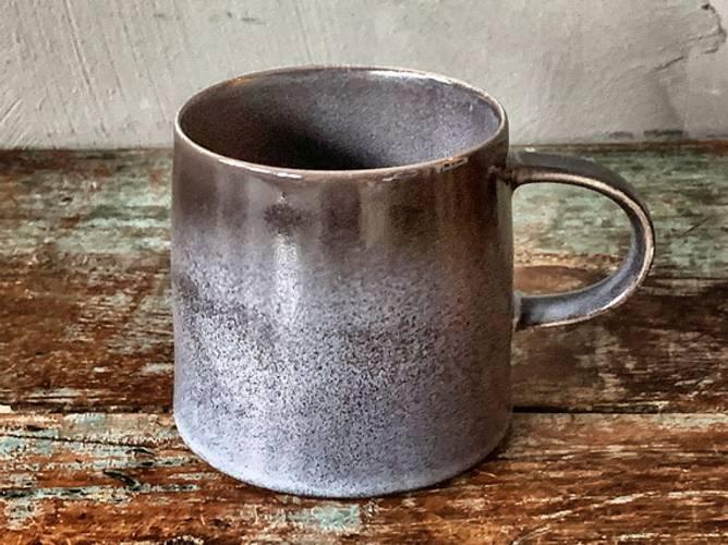 Bilde av Krus gråblå 8cm