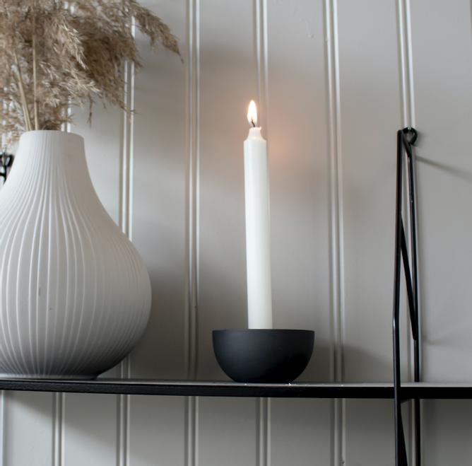 Bilde av Lidatorp mini grå lysestake