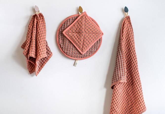 Bilde av Kjøkkenhåndkle Vaffelbom