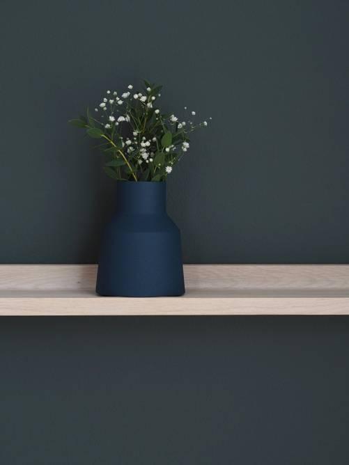 Bilde av Lotus vase mini Marine 11cm