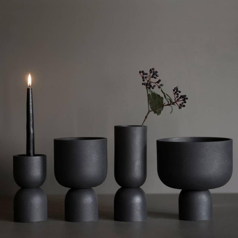 Bilde av Post vase 23 cm Cast iron