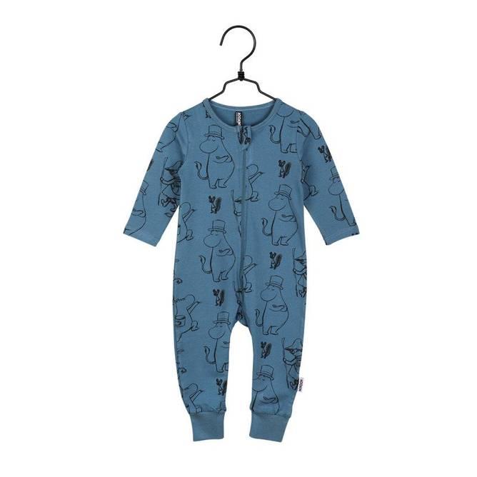 Bilde av Mummi pyjamas blå str 92