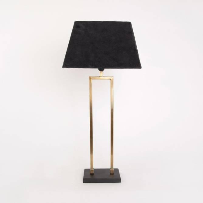 Bilde av Bordlampe Messing rett