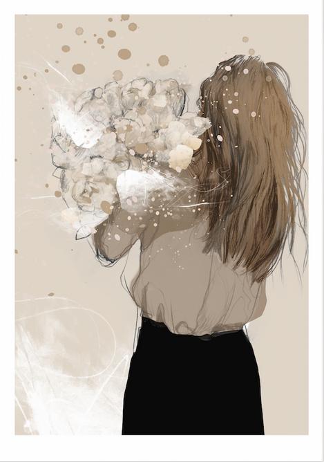 Bilde av Wild at heart poster 50x70