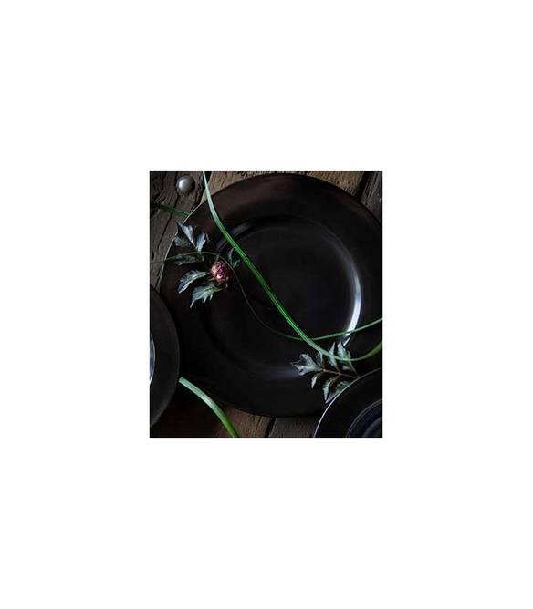 Bilde av Noir flat tallerken 280 mm