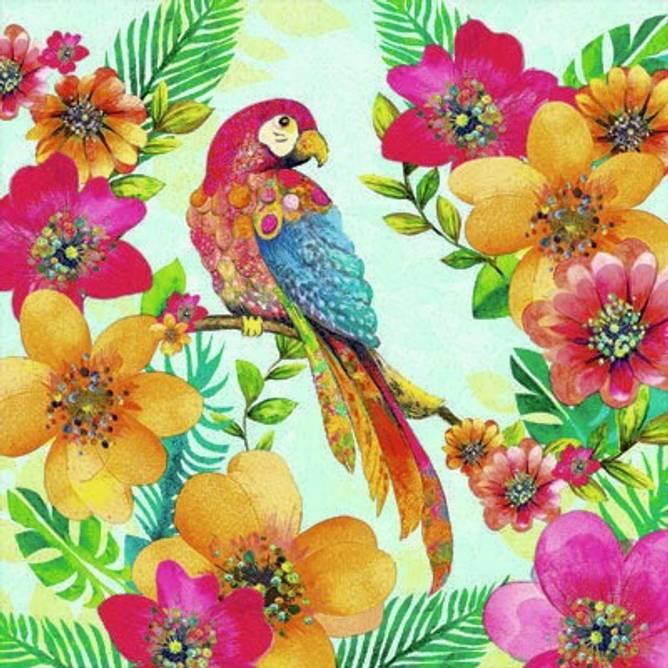Bilde av Napkin 33 Tropical Parrot