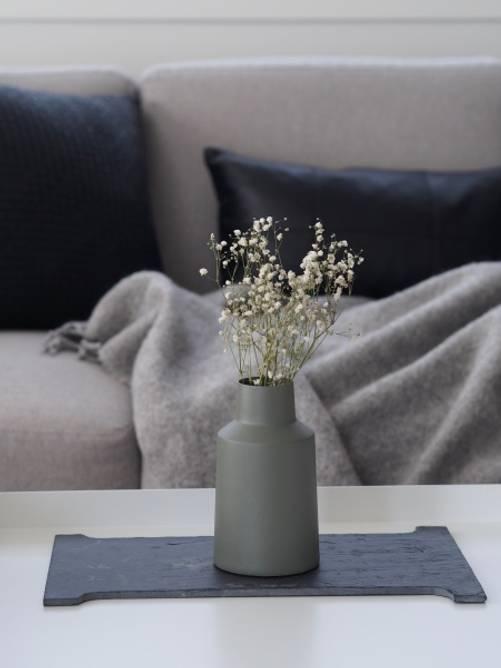 Bilde av Lotus vase Oliven