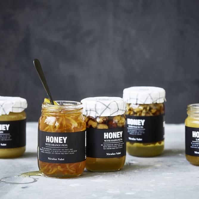 Bilde av Honning med valnøtter