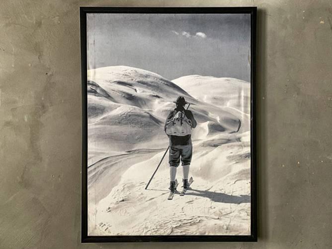 Bilde av Bilde Mann på ski