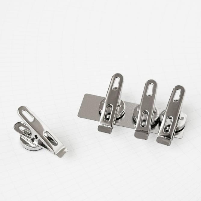 Bilde av Klips med magneter 4 stk