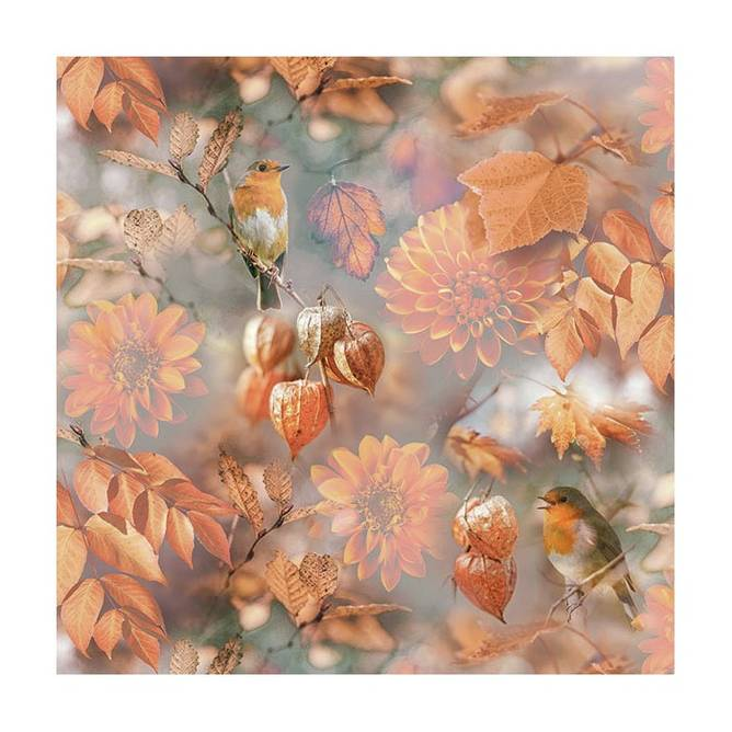 Bilde av Napkin 33 Orange Autumn