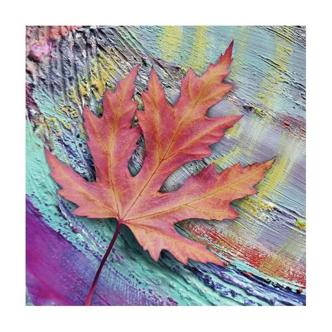 Bilde av Napkin 33 Oak Leaf