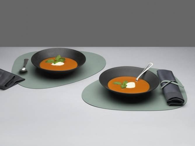 Bilde av Table Mat Curve Pastel Green