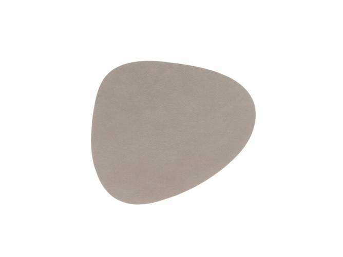 Bilde av Glass Mat Curve Light Grey