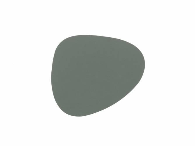 Bilde av Glass Mat Curve Pastel Green