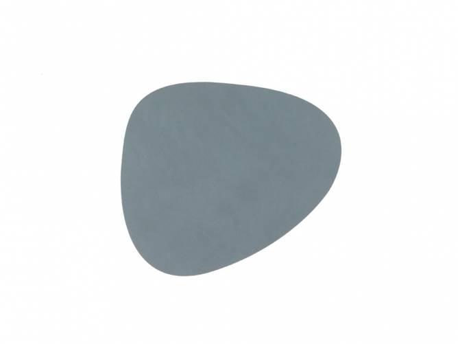Bilde av Glass mat Curve Light Blue