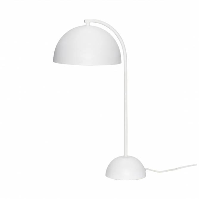 Bilde av Hübsch - Bordlampe metal hvit