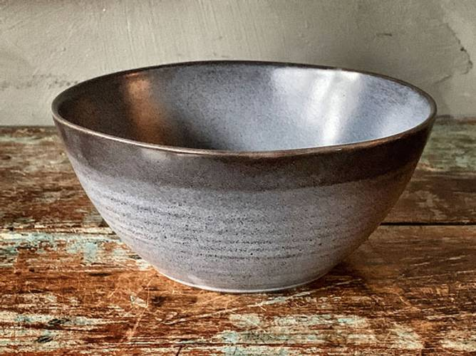 Bilde av Frokostbolle gråblå d 15 cm